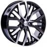 Jogo Roda Volkswagen Golf 2014 Aro 18 (5x112/ET45) - Preto Diamantado - Conjunto 4 Rodas