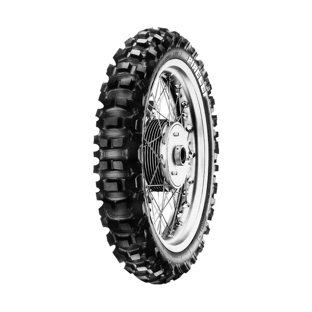 Pneu de Moto Pirelli Aro 18 Scorpion XC Mid Soft 110/100 -18 64M TT - Traseiro