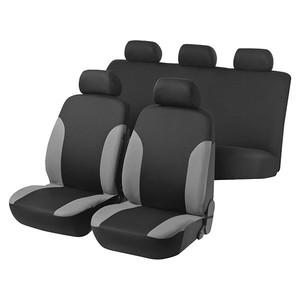 Capa de assentos 5 lugares Preta/Cinza Multilaser AU329