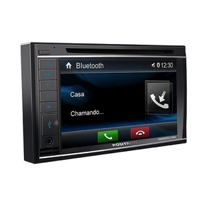 Central Multimídia Pósitron SP8920 NAV - Tela 6,2 polegadas, Bluetooth, GPS, Mirror Connect, TV Digital