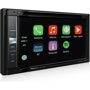 Central Multimídia Pioneer AVIC-F970TV - 6,2 polegadas 2DIN, Bluetooth, Navegador GPS, TV Digital