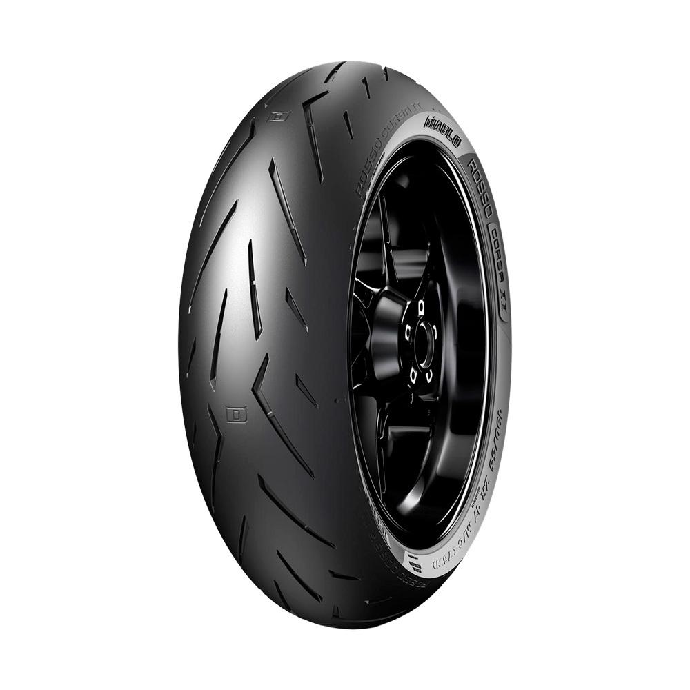 Pneu de Moto Pirelli Aro 17 Diablo Rosso Corsa II 190/50R17 73W TL - Traseiro