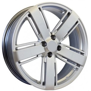Jogo Roda Volkswagen Amarok Highline Aro 18 (4X100/ET42) - Hiper Silver - Conjunto 4 Rodas