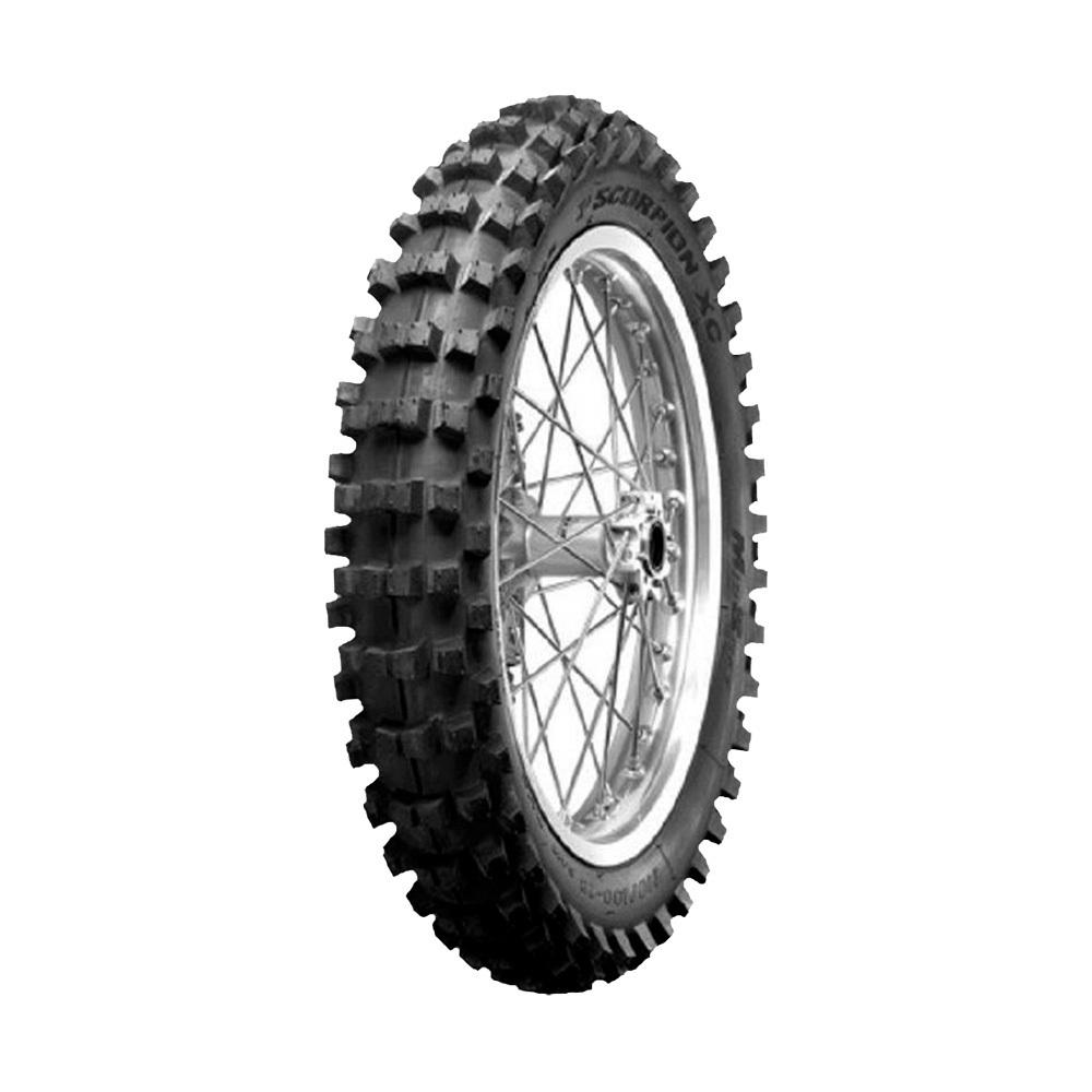 Pneu de Moto Pirelli Aro 19 Scorpion MX32 Mid Soft 100/90 -19 57M TT - Traseiro