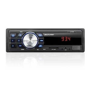 Som Automotivo One MP3 Player Entrada Aux./USB/SD Multilaser P3213