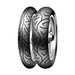 Jogo de 2 Pneus de Moto Pirelli Sport Demon 100/80-17 52S + 130/70-17 62S TL - Original Honda CBX 250 Twister / Yamaha Fazer 250