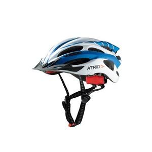 Capacete de Ciclismo/Bicicleta Inmold com led Azul Atrio