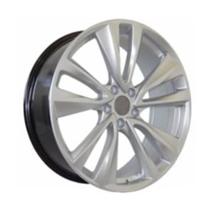 Jogo Roda Hyundai 2015 Aro 22 (5X114/ET42) - Hiper Silver - Conjunto 4 Rodas