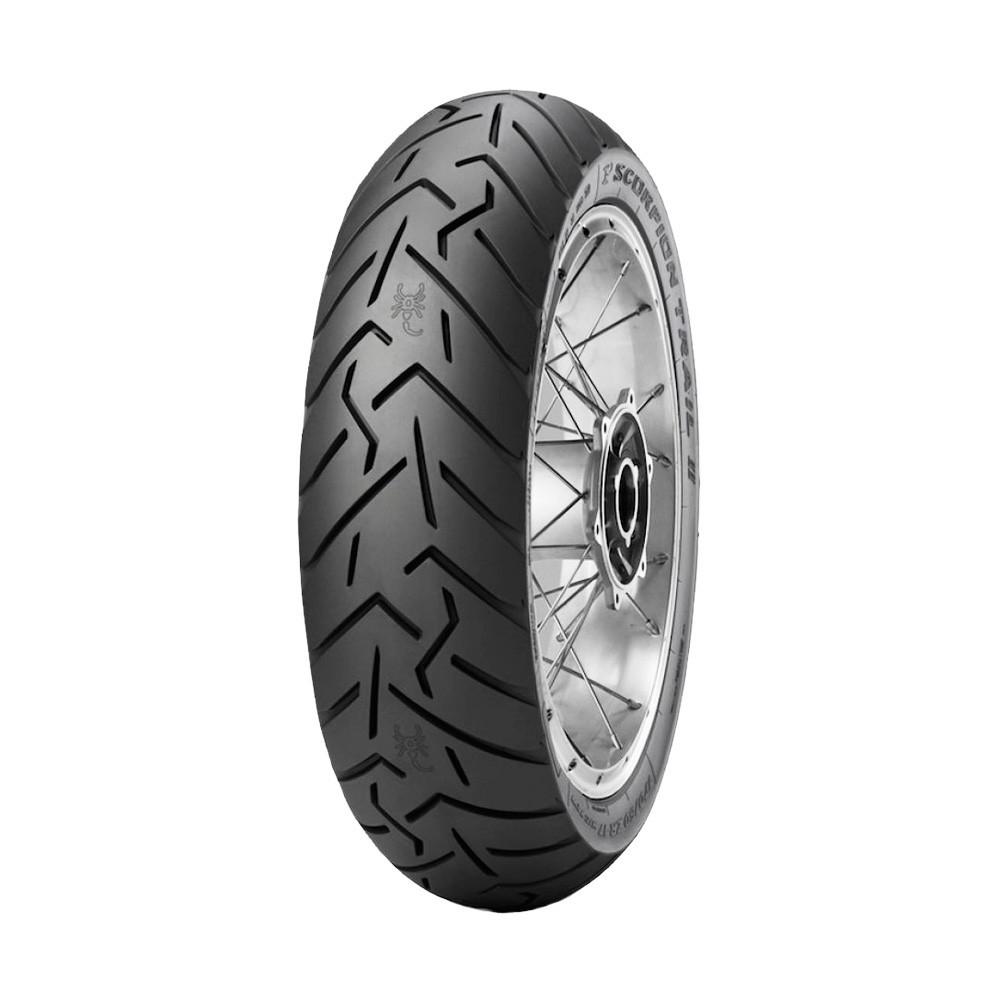 Pneu de Moto Pirelli Aro 17 Scorpion Trail II 140/80R17 69V TL -Traseiro