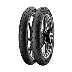 Jogo 2 Pneus de Moto Pirelli Super City 2.75-18 42P + 90/90-18 51P - CG / YBR / RD / Titan