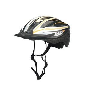 Capacete de Ciclismo/Bicicleta MTB Preto/Laranja/Branco Atrio - Tamanho M