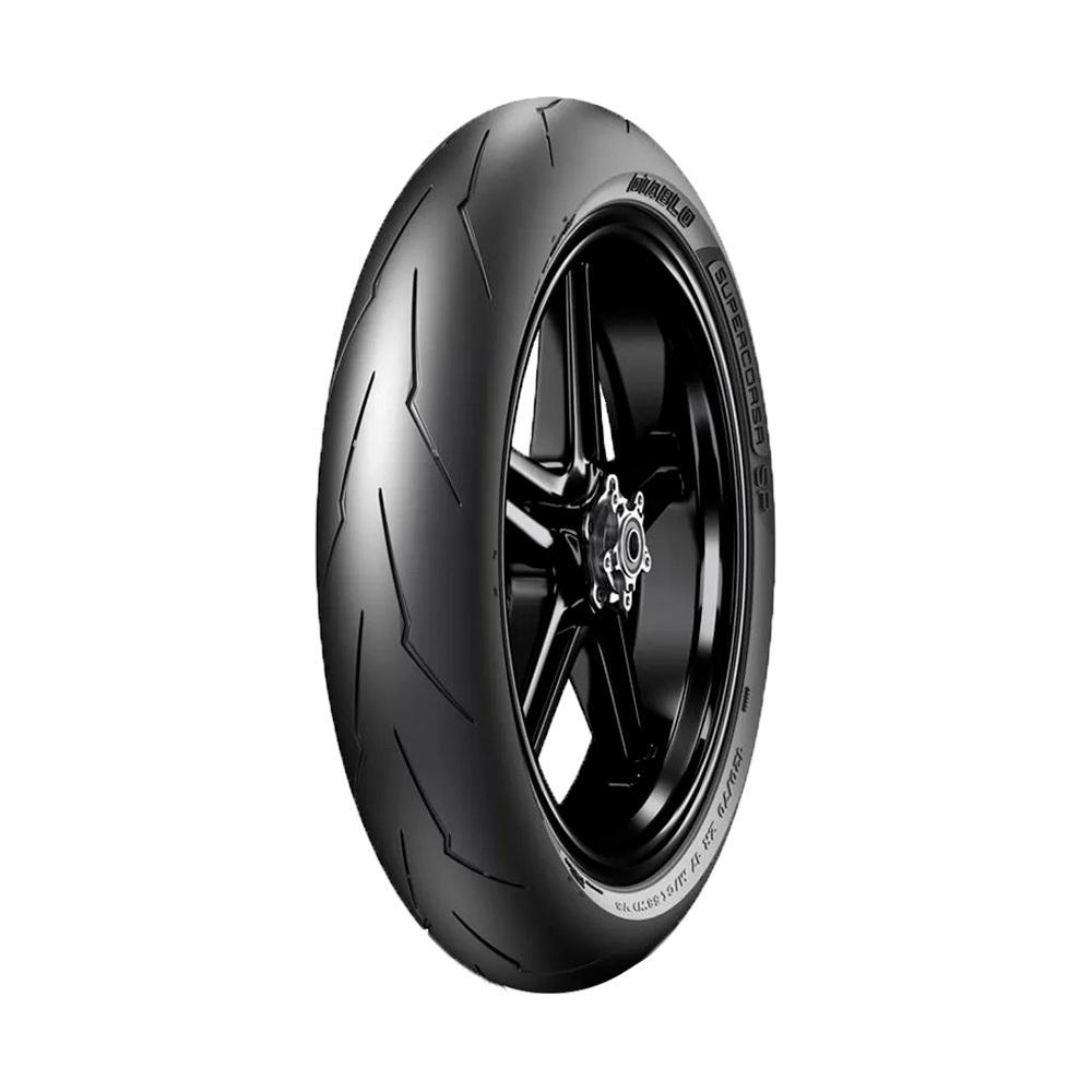 Pneu de Moto Pirelli Aro 17 Diablo Supercorsa SP V3 120/70R17 58W TL - Dianteiro