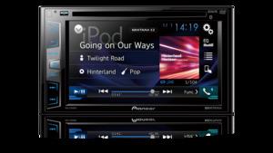 DVD Player Pioneer AVH-X2880BT 2-DIN com Bluetooth USB e MIXTRAX e RCA
