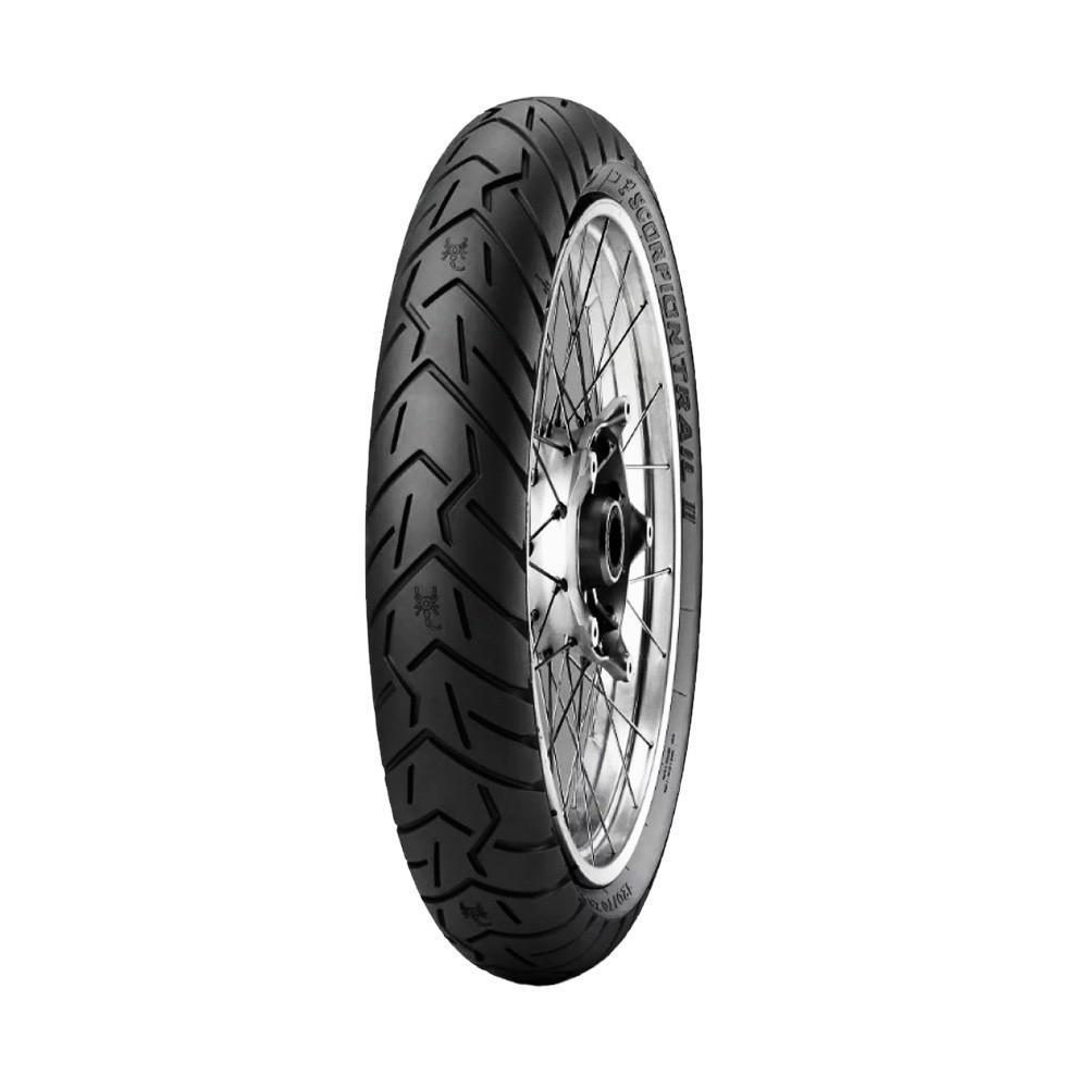 Pneu de Moto Pirelli Aro 17 Scorpion Trail II 120/70R17 58W TL - Dianteiro