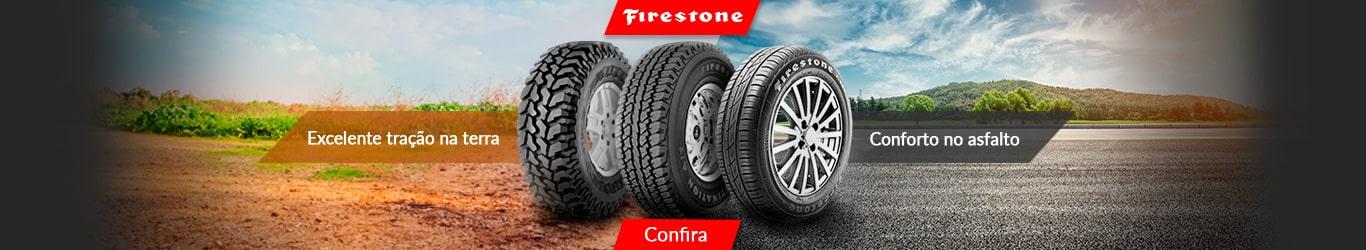Pneus Firestone é na PneuStore