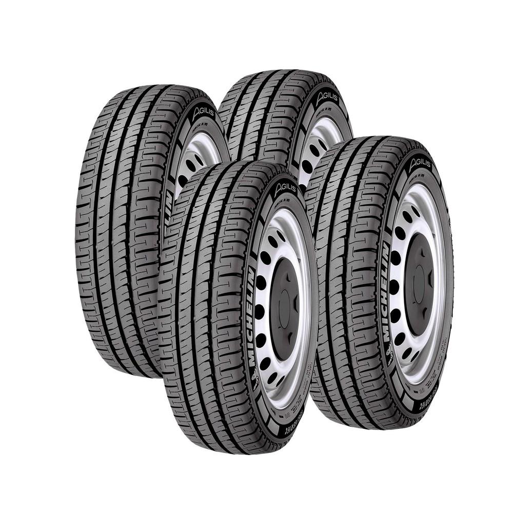 Jogo de 4 Pneus Michelin Aro 15 Agilis 205/70R15C 106/104R