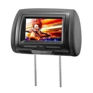 Descanso de cabeça com DVD Preto 7 polegadas Multilaser AU709