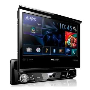 DVD Player Pioneer AVH-X7780TV - 7 polegadas 1DIN, TV Digital, Bluetooth, USB, Mixtrax