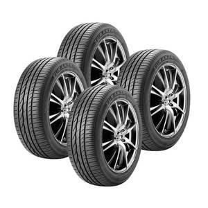 Jogo de 4 Pneus Bridgestone Aro 16 Turanza ER300 205/55R16 91V - Original Nissan Sentra / Renault Sandero Stepway / Toyota Corolla