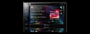 DVD Player Pioneer AVH-298BT 2-DIN com Bluetooth, USB, RCA (sem controle remoto)