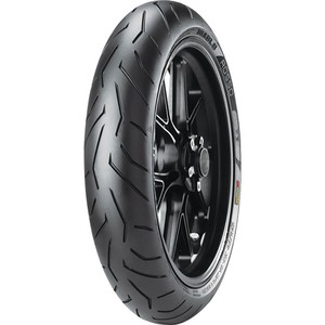 Pneu Moto Pirelli Aro 17 Diablo Rosso II 120/70R17 58W TL - Dianteiro