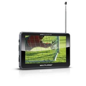 GPS Multilaser Tracker III Tela 5 polegadas com TV e Rádio FM GP036