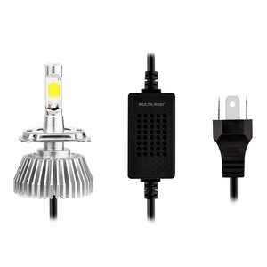 Lâmpada Automotiva Multilaser Super Led H7 12V 30W 6200K
