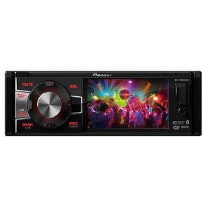 DVD Player Pioneer DVH-8880AVBT - 3,5 polegadas 1DIN, USB, AUX, RCA