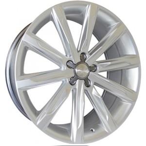 Jogo Roda Audi A7 Aro 20 (5X112/ET42) - Hiper Silver - Conjunto 4 Rodas