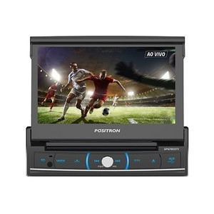 DVD Player Pósitron SP6720 DTV Retrátil 7 polegadas - Touch, Bluetooth, TV Digital