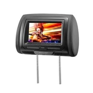 Descanso de cabeça com DVD Cinza 7 polegadas Multilaser AU707