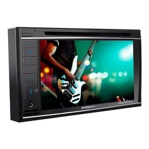 Central Multimídia pósitron 6  polegadas SP8720 DTV Tela 6,2 polegadas - Bluetooth, TV Digital, Leitor cartão SD