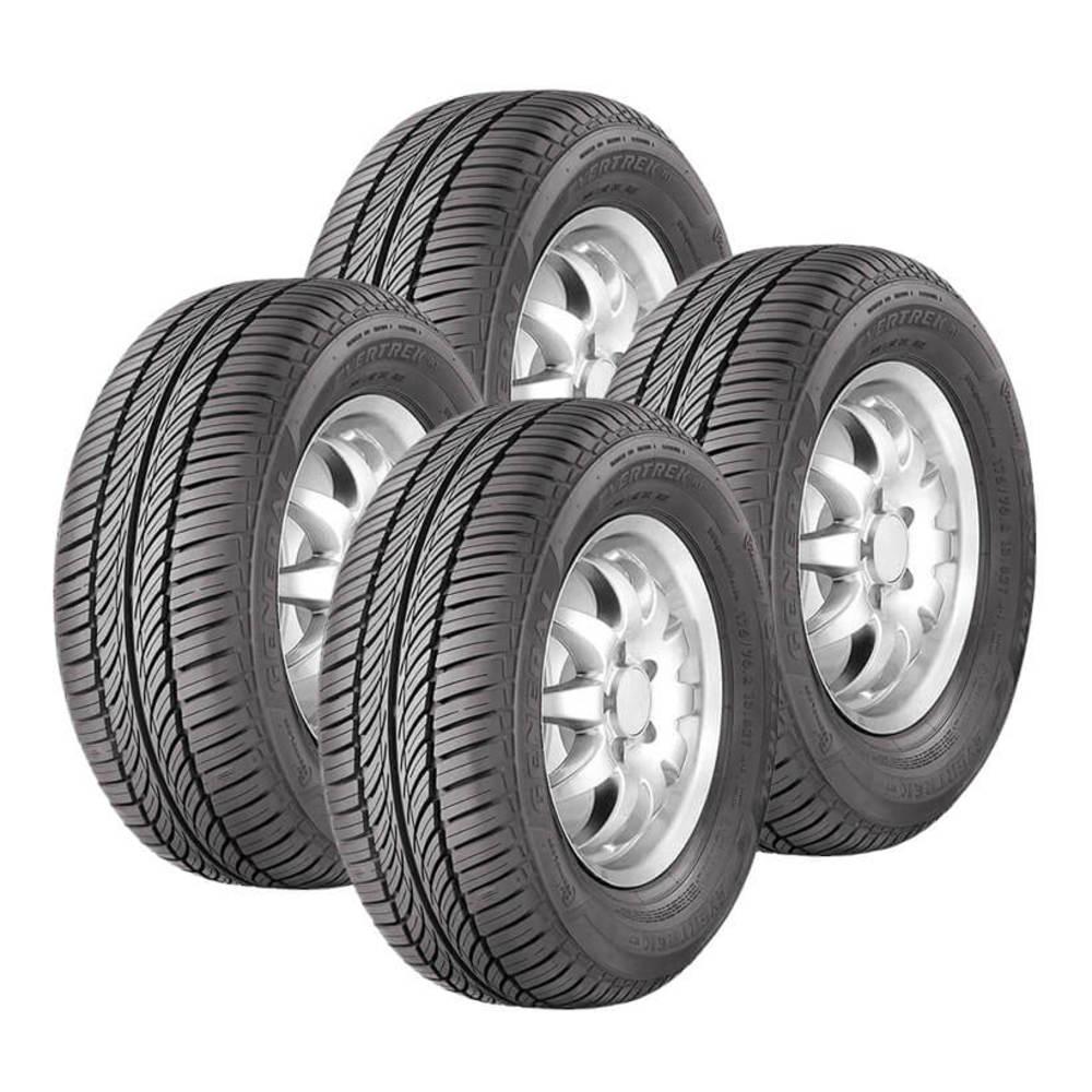 Jogo 4 Pneus General Tire by Continental Aro 14 Evertrek RT 175/70R14 84T