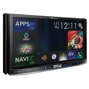 Central Multimídia Pioneer AVIC-F70TV - 7 polegadas 2DIN, Bluetooth, Navegador GPS, TV Digital