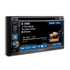 Central Multimídia Alpine W530 - 2DIN, 6.1 polegadas, USB