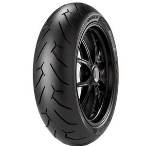 Pneu de Moto Pirelli Aro 17 Diablo Rosso II 200/50ZR17 75W TL - Traseiro