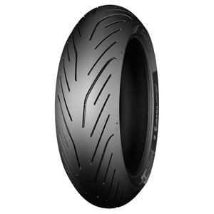 Pneu Moto Michelin Aro 17 Pilot Power 3 180/55R17 73W TL - Traseiro