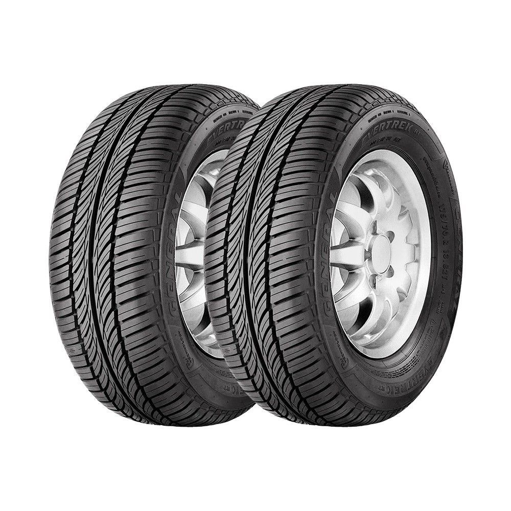 Jogo 2 Pneus General Tire by Continental Aro 13 Evertrek RT 175/70R13 82T